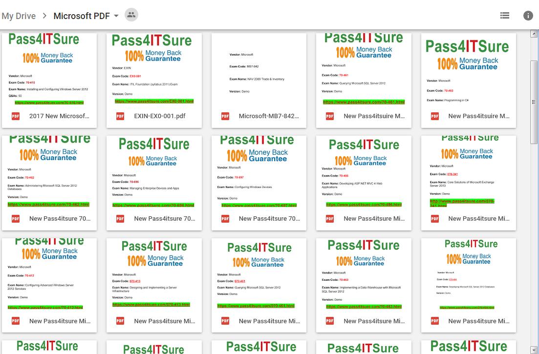 pass4itsure microsoft drive